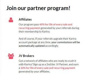 Kartra Partner/Affiliate Program