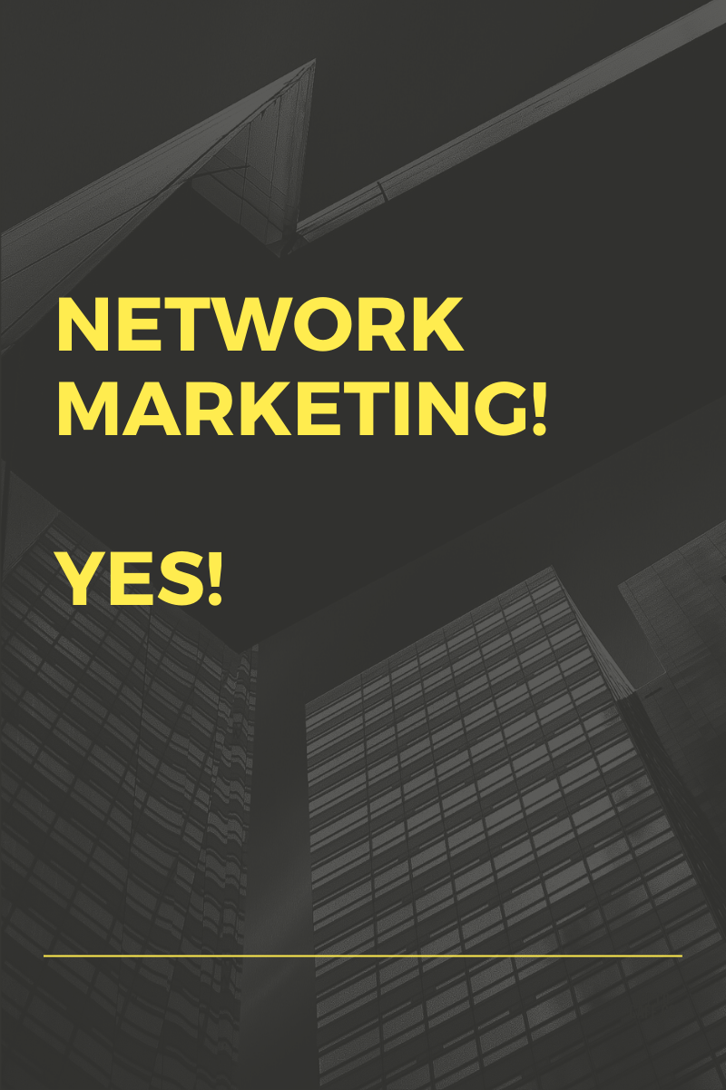 Is Network Marketing An Option?